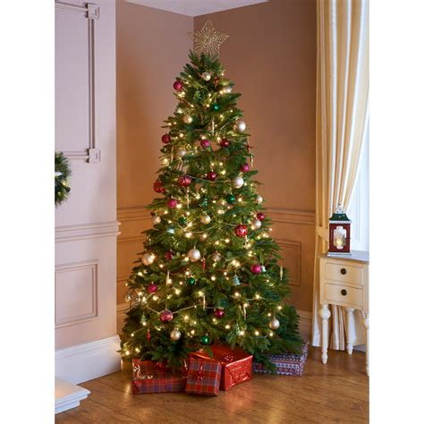 who introfuced christmas trees to britisn pine tree 7ft artificial tree