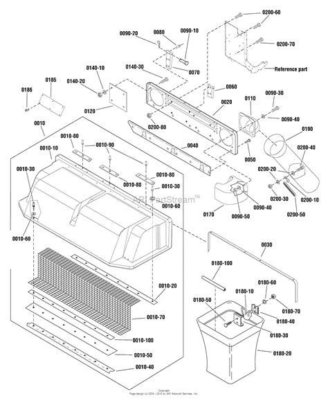 catcher diagram simplicity 1696363 00 catcher clean sweep parts