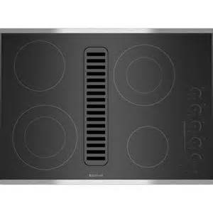 downdraft cooktop ventilation electric radiant downdraft cooktop with electronic touch