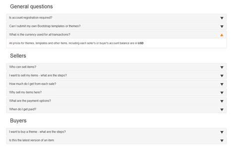 faq bootstrap template free responsive bootstrap faq templates designerslib