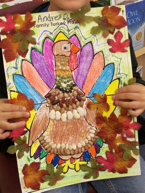 I Heart My Kinder Kids Family Turkey Project Family Turkey Project Template