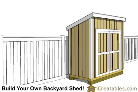 4 X 8 Lean To Shed by 4x8 Lean To Shed Plans Studio Design Gallery Best