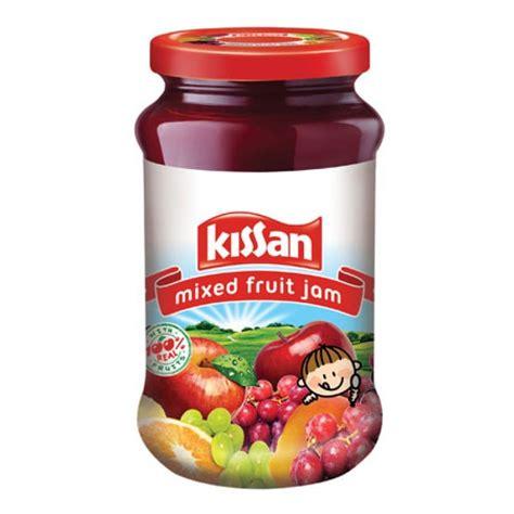 fruit jam kissan mixed fruit jam 700gm