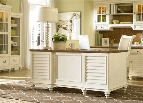 Home Office Desks White Office Furniture Southport Credenza Hutch Distressed White Office Furniture Havertys