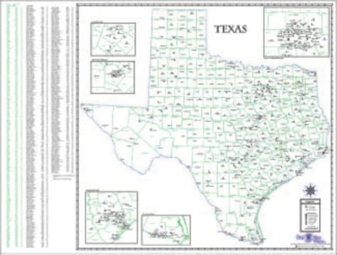 texas state map pdf texas road map quotes