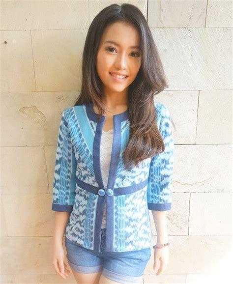 design blazer batik modern batik blazer on pinterest batik dress batik fashion and