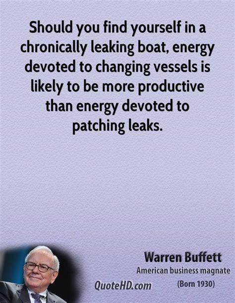 How Do You Find A Leak In An Air Mattress by Warren Buffett Quotes Quotehd