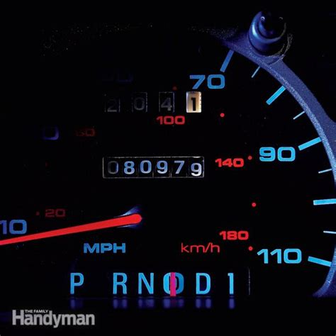 how to change the dash lights in a 2006 lincoln town car how to replace dashboard lights the family handyman