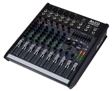 Mixer Alto Live 802 studio equipment gt mixing desks gt alto live 802 getinthemix
