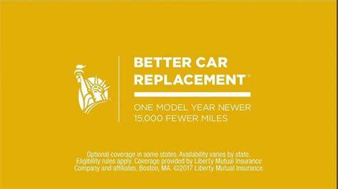 liberty mutual tv spot better car replacement ispot tv liberty mutual tv commercial better car replacement