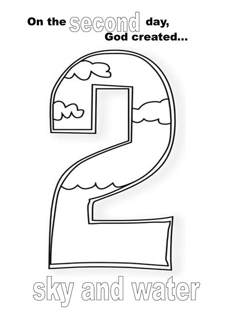 days of creation coloring pages exelent six days of creation coloring pages picture