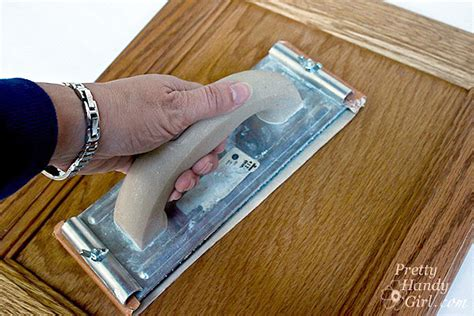 Sanding Cabinet Doors It S A Scotchblue Painting And A Cabinet Door Rev Pretty Handy