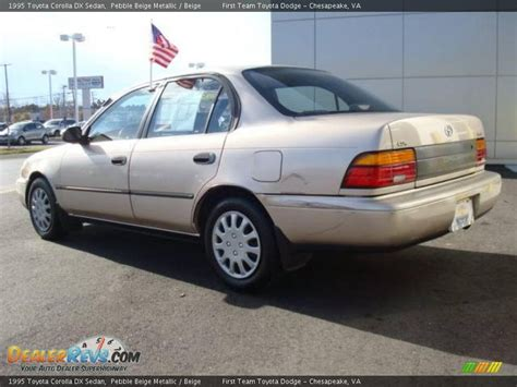1995 Toyota Corolla Dx 1995 Toyota Corolla Dx Sedan Pebble Beige Metallic Beige