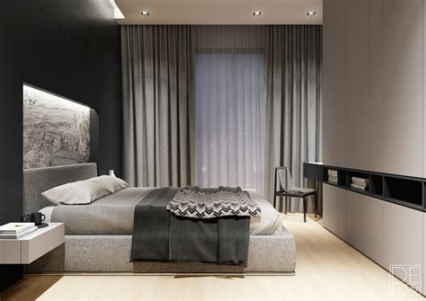 apartment design mit 1 schlafzimmer two apartments with texture one soft one sleek