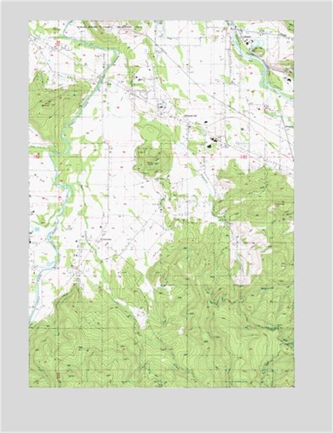 map of jasper oregon jasper or topographic map topoquest