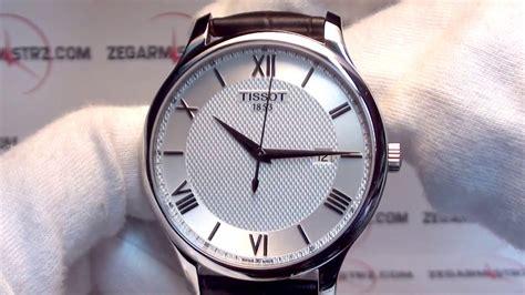 Tissot Tradition Gent T0636101603800 tissot tradition gent t063 610 16 038 00 www zegarmistrz