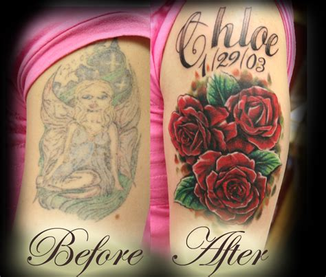 roses cover up tattoo getting great design 2011 money