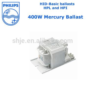 Lu Philips Mercury 400 Watt philips high pressure mercury ballast 400w for hpl and hpi
