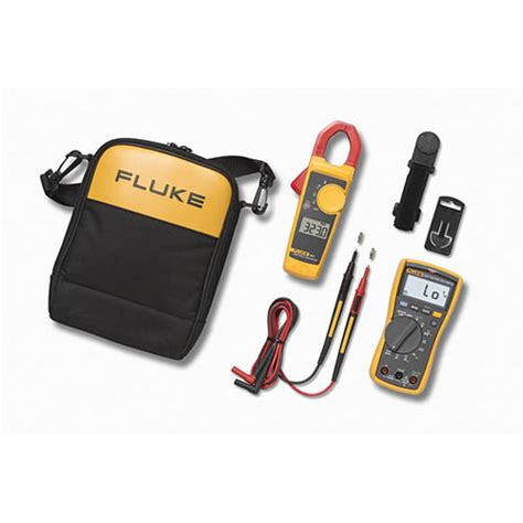 Multitester Fluke 117 fluke 117 323 electricians multimeter combo kit