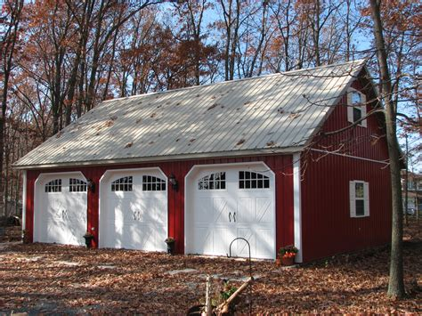 barn style garage not only is this a beautiful garage pole building but the