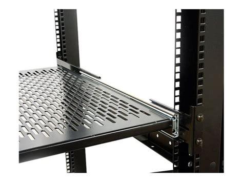 Adjustable Rack Shelf by Startech 2u Adjustable Mount Depth Sliding Rack Mount
