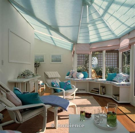 ceiling blinds for sunrooms 20 best images about conservatory decor on