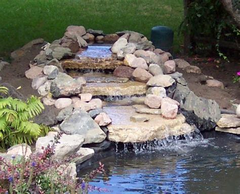 how to build a backyard waterfall 10 diy waterfalls you can build on a budget home and