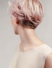 short hair cuts for women over 60 showing back and front