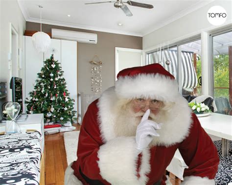 santa in my house how to take a photo of santa in your house tomfo