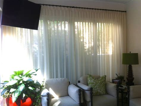 sunroom curtains window treatments sunroom traditional window treatments ta by
