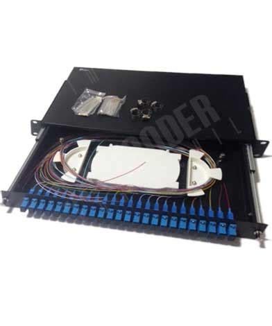 cabecera optica cabeceras de fibra 19 fc sm 48f completa telemax