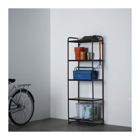 ikea draget mulig shelf unit black ikea