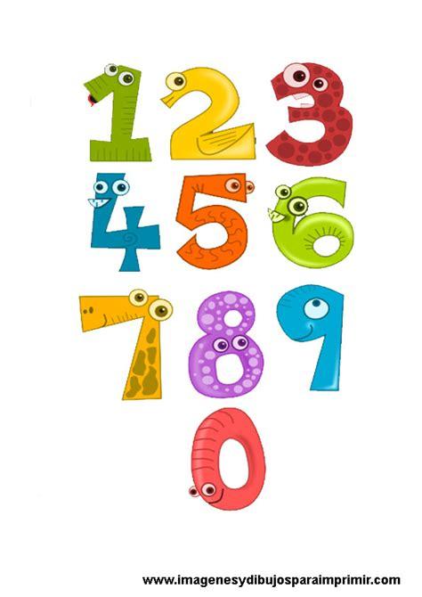 imagenes infantiles numeros imprimir lamina de numeros para ni 241 os