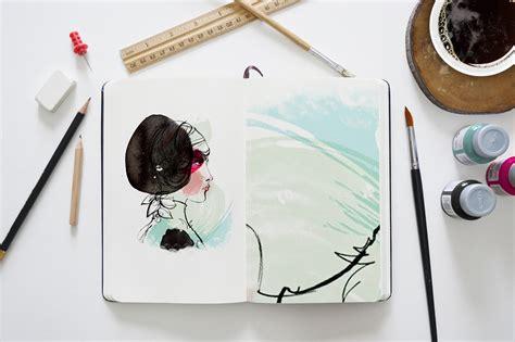 sketchbook mock up a photo realistic sketchbook mock up for showcasing your