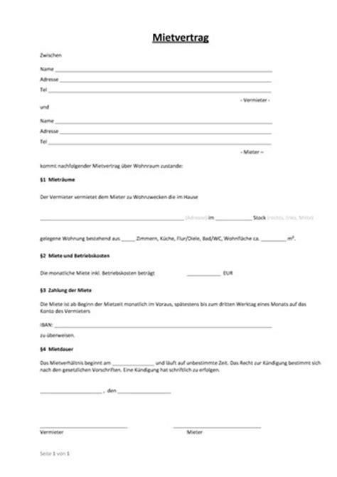 wohnung untervermieten vertrag einfacher mietvertrag wo wohnung steuern vertrag