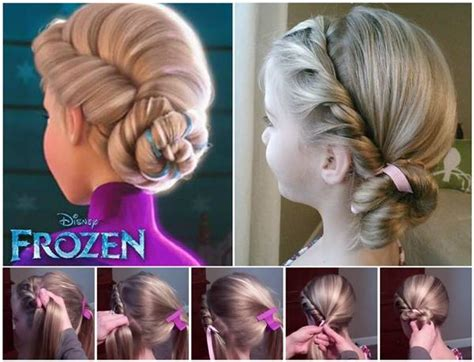 Hairstyles For Frozen by Disney Frozen Coronation Hairstyle