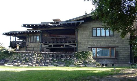 House With Porch by Gamble House