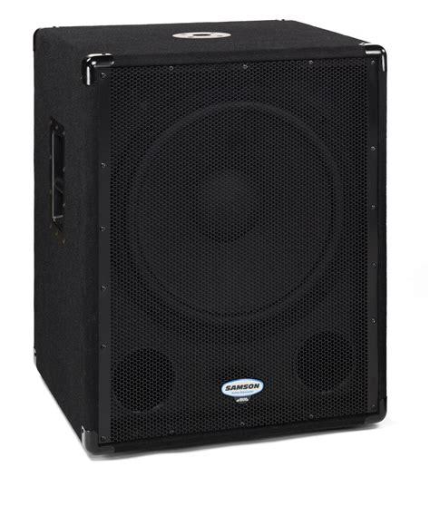 Speaker Subwoofer Sphinx samson technologies db1800a image 1655966 audiofanzine