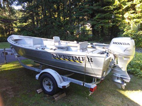 aluminum boats bc 16 ft welded aluminum lifetimer boat outside nanaimo nanaimo