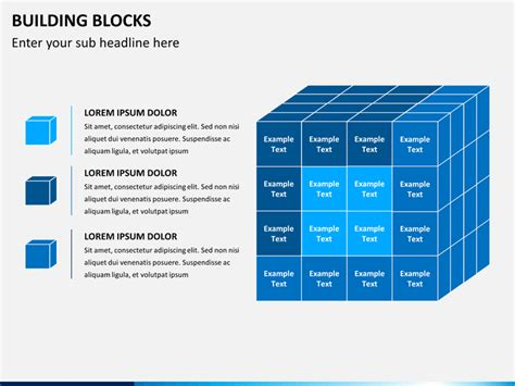 Building Blocks Powerpoint Template Sketchbubble Building A Powerpoint Template