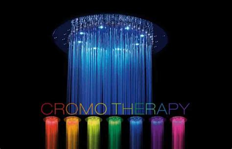 soffioni doccia cromoterapia i colori benessere in bagno i vantaggi della