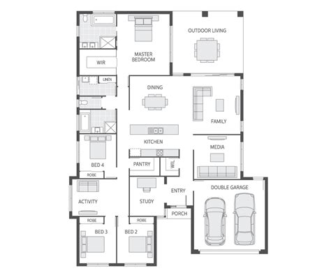 100 metricon home floor plans osborne homes