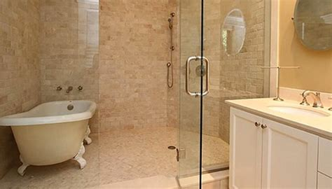 bathroom with shower and bath clever design ideas the bath tub in the shower drench
