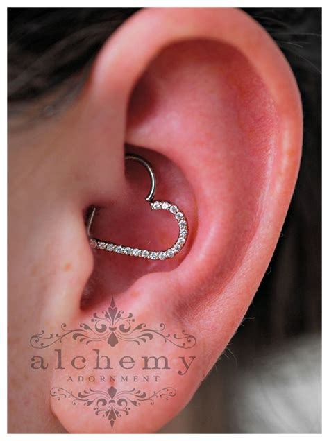 pierced hearts tattoo best 25 migraine piercing ideas on daith