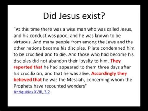 jesus did not exist 1514814420 did jesus exist historically the evidence youtube