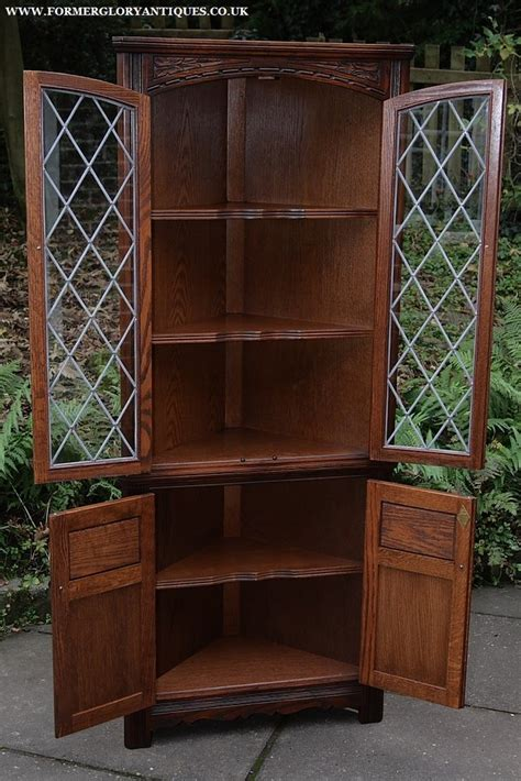 Corner Bookcases For Sale Charm Corner Display Cabinet Cupboard Bookcase Shelves For Sale In Uttoxeter Staffs Preloved
