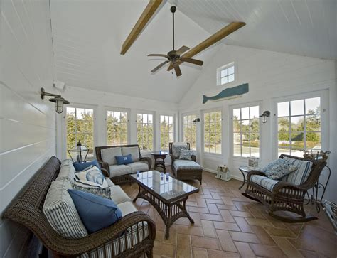 ceiling blinds for sunrooms sunrooms sunroom contemporary with striped cushion hanging chair