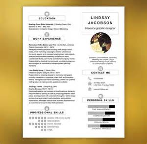 Free Designer Resume Templates by Sle Designer Resume 10 Documents In Pdf Word Psd Vector