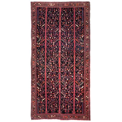 traditional rugs blue iran traditional blue wool rug 4343 andonian rugs seattle bellevue store sales