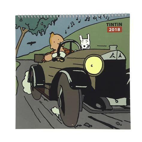 Calendrier Tintin 2018 Calendrier Tintin 2018 Tintin Boutique